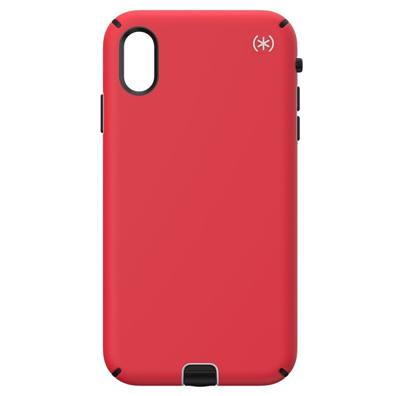 Speck Presidio Sport iPhone XS Max Case Rood 01