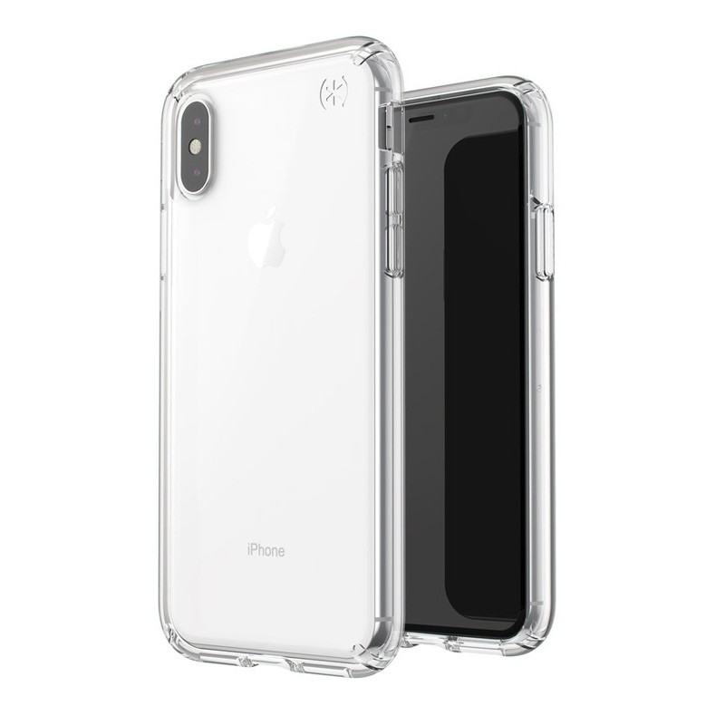 Speck Presidio Stay Clear iPhone X/XS Hoesje Transparant - 6