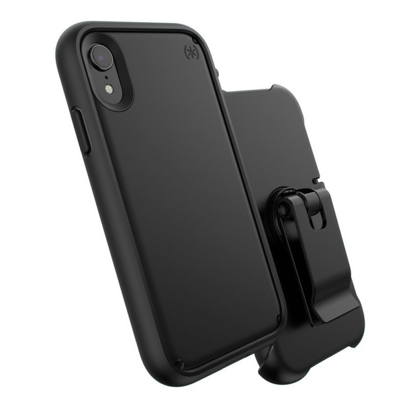Speck Presidio Ultra iPhone XR Hoes Zwart 07