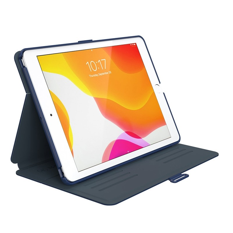 Speck Balance Folio iPad 10.2 (2019 / 2020) Beschermhoes Blauw 06
