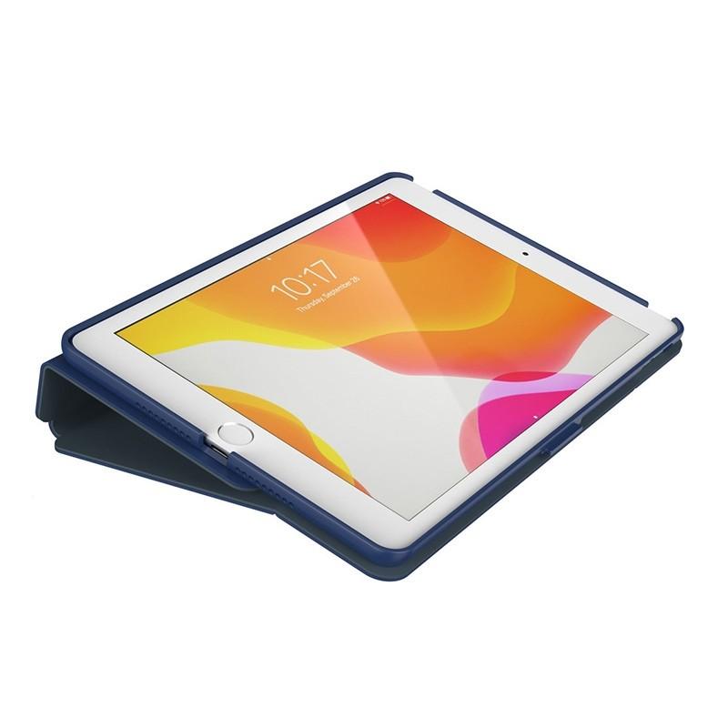 Speck Balance Folio iPad 10.2 (2019 / 2020) Beschermhoes Blauw 05