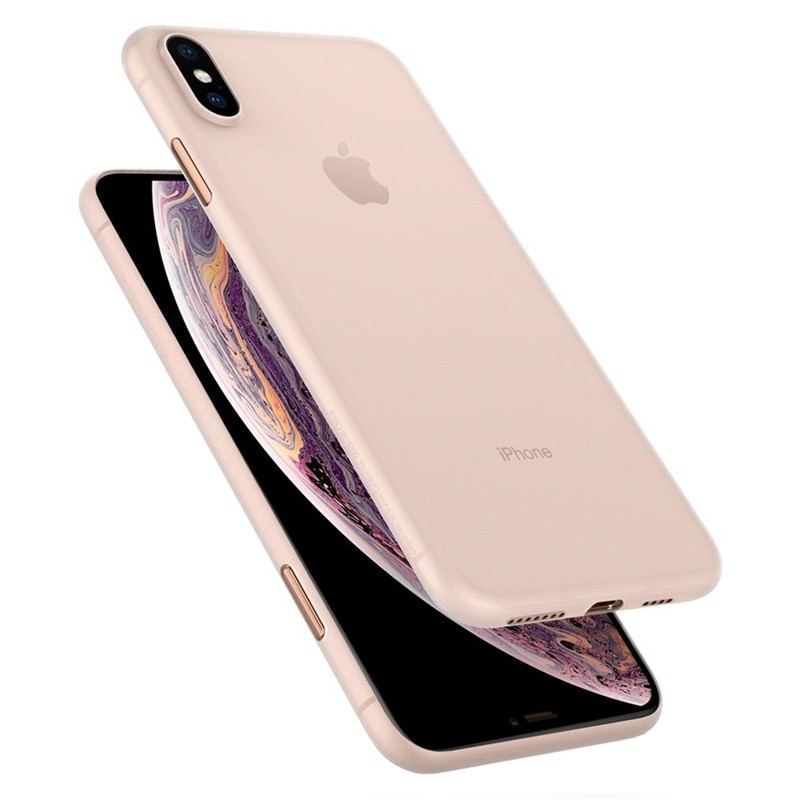 Spigen Air Skin iPhone XS Max Hoesje XS Max Wit 02