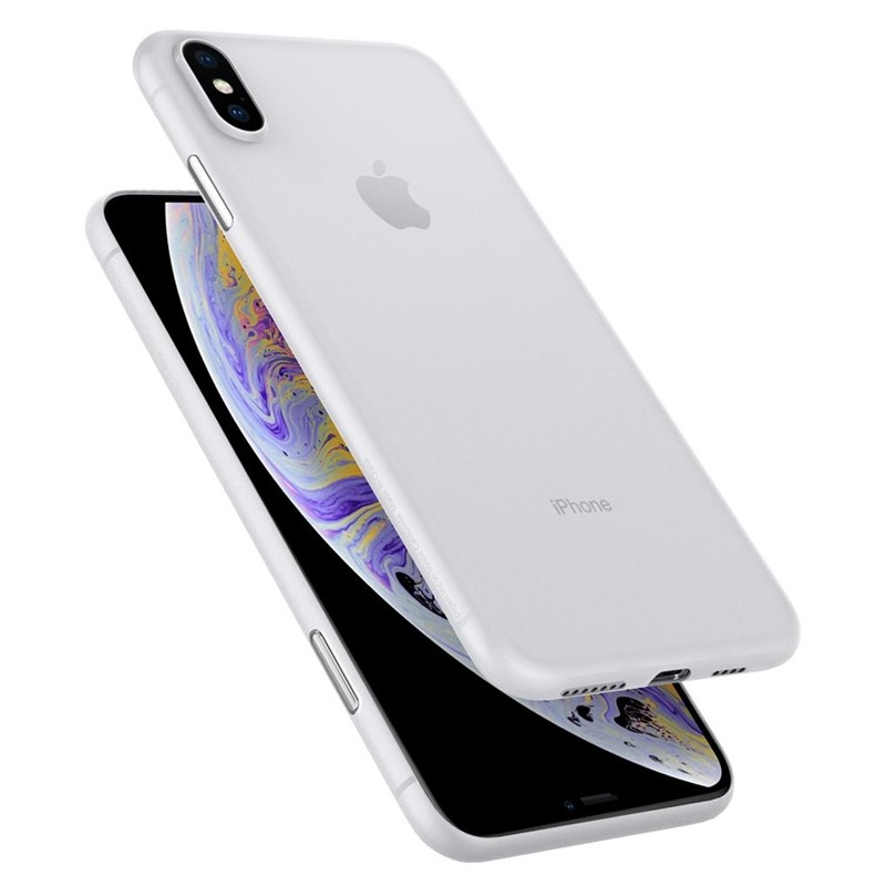 Spigen Air Skin iPhone XS Max Hoesje XS Max Wit 05