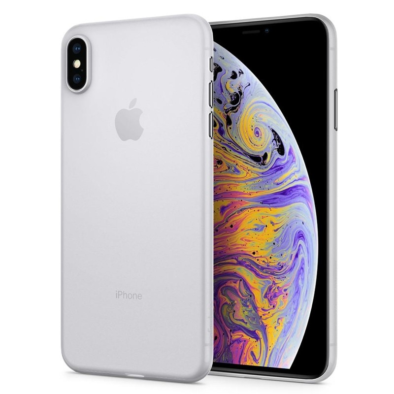 Spigen Air Skin iPhone XS Max Hoesje XS Max Wit 06