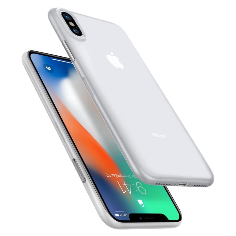 Spigen AirSkin iPhone X/Xs Hoesje Transparant - 5