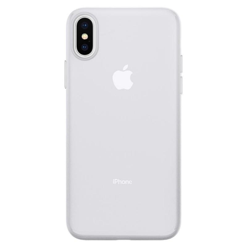 Spigen AirSkin iPhone X/Xs Hoesje Transparant - 4