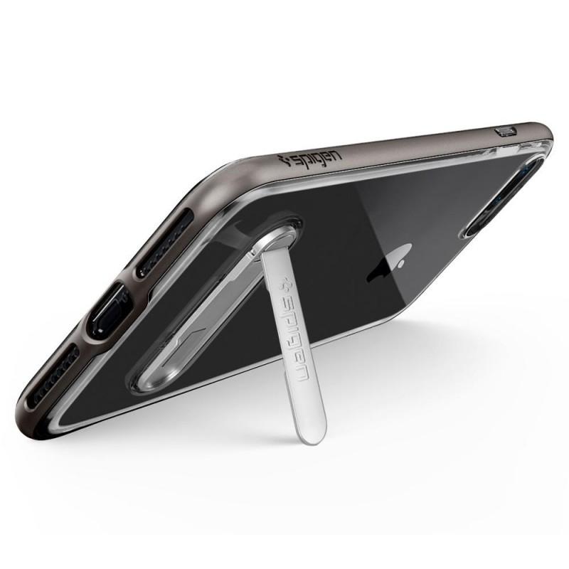 Spigen Crystal Hybrid iPhone 8 Plus/7 Plus Gunmetal - 5
