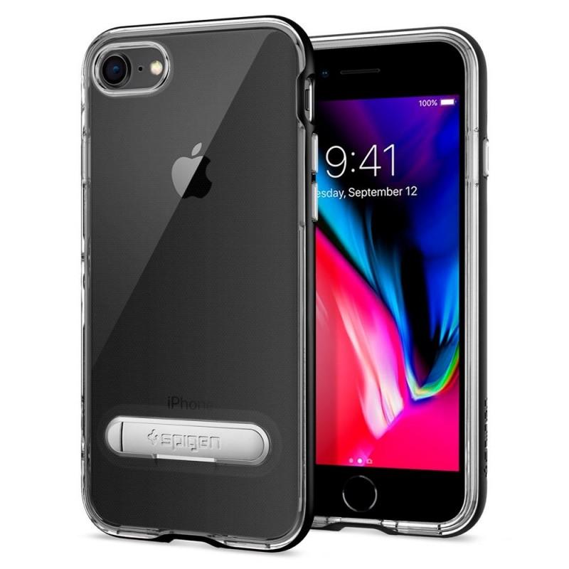 Spigen Crystal Hybrid Case iPhone 8/7 Zwart - 2
