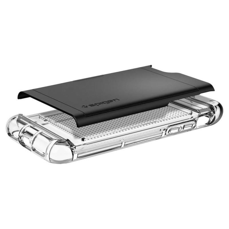 Spigen Crystal Wallet iPhone 8/7 Hoesje Zwart - 3