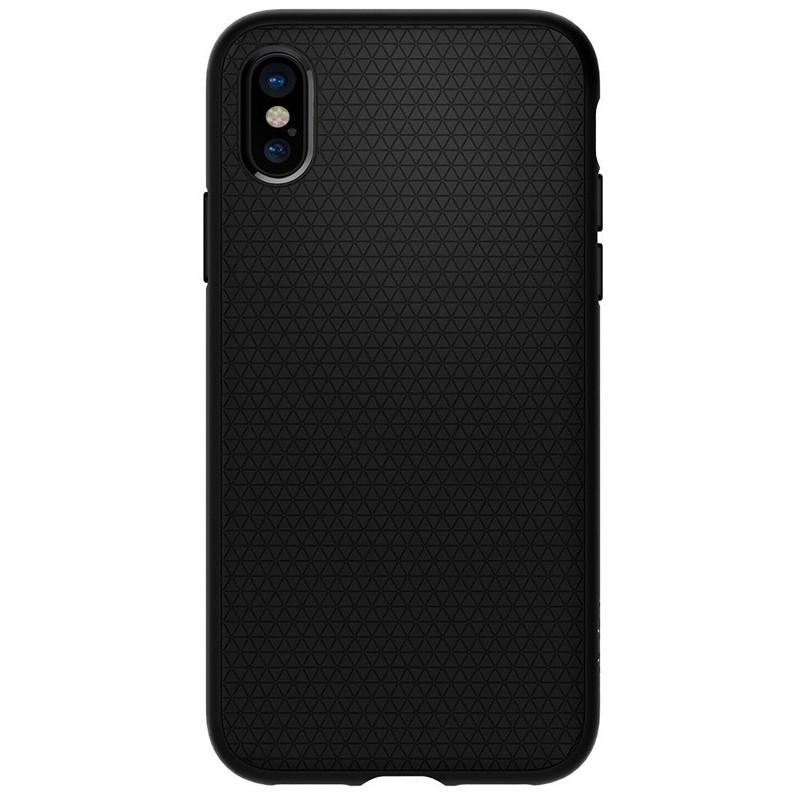 Spigen - Liquid Air Apple iPhone X/Xs hoes Black 05