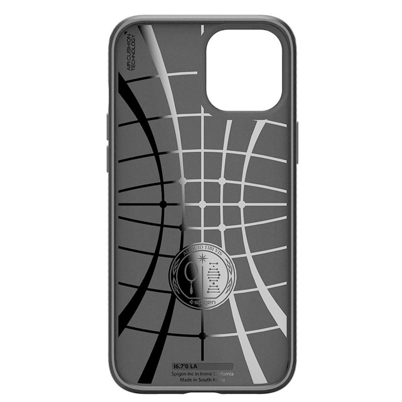 Spigen - Liquid Air iPhone 12 / iPhone 12 Pro 6.1 inch zwart 04