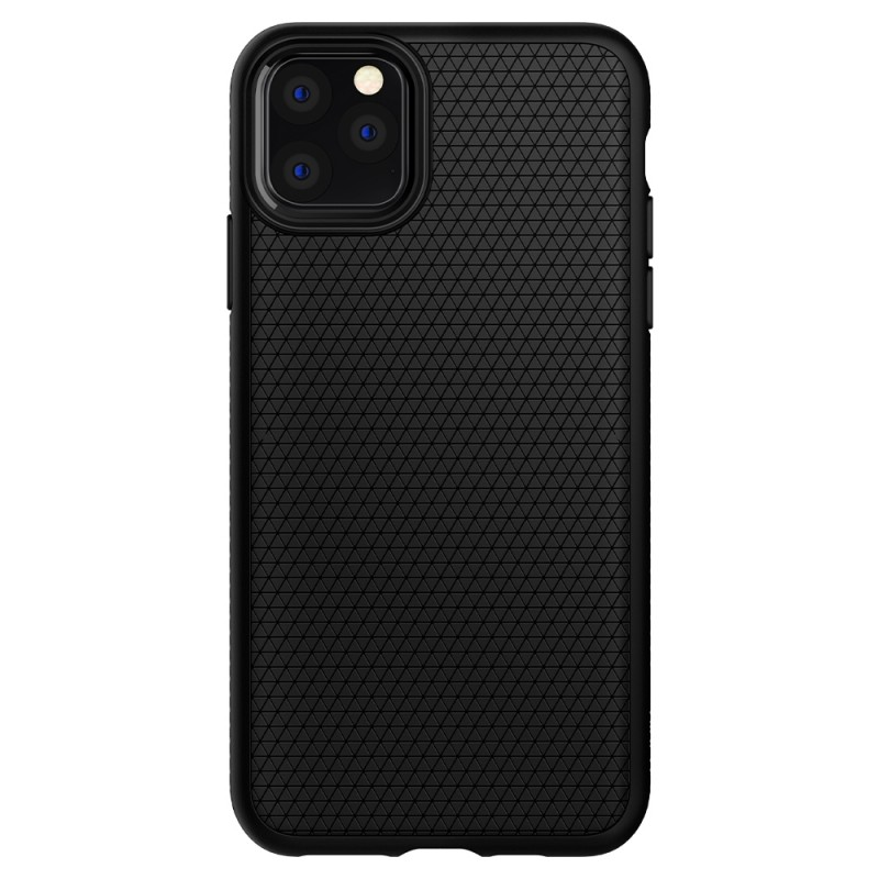 Spigen Liquid Air iPhone 11 Pro Max Zwart - 2