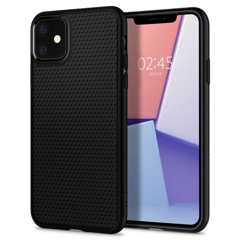 Spigen Liquid Air iPhone 11 Hoesje Zwart - 1