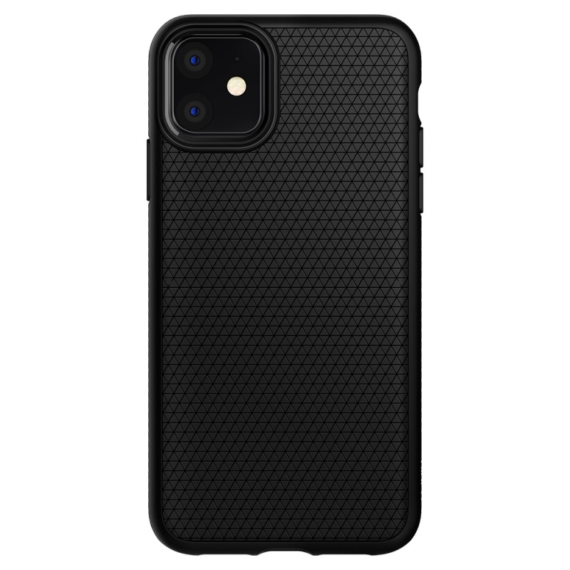 Spigen Liquid Air iPhone 11 Hoesje Zwart - 2