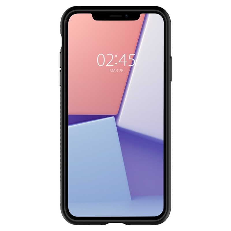 Spigen Liquid Air iPhone 11 Hoesje Zwart - 4
