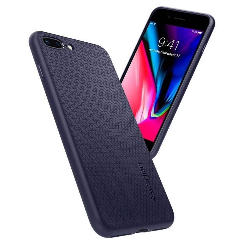 Spigen Liquid Air Armor Case iPhone 8 Plus/7 Plus Blauw - 2