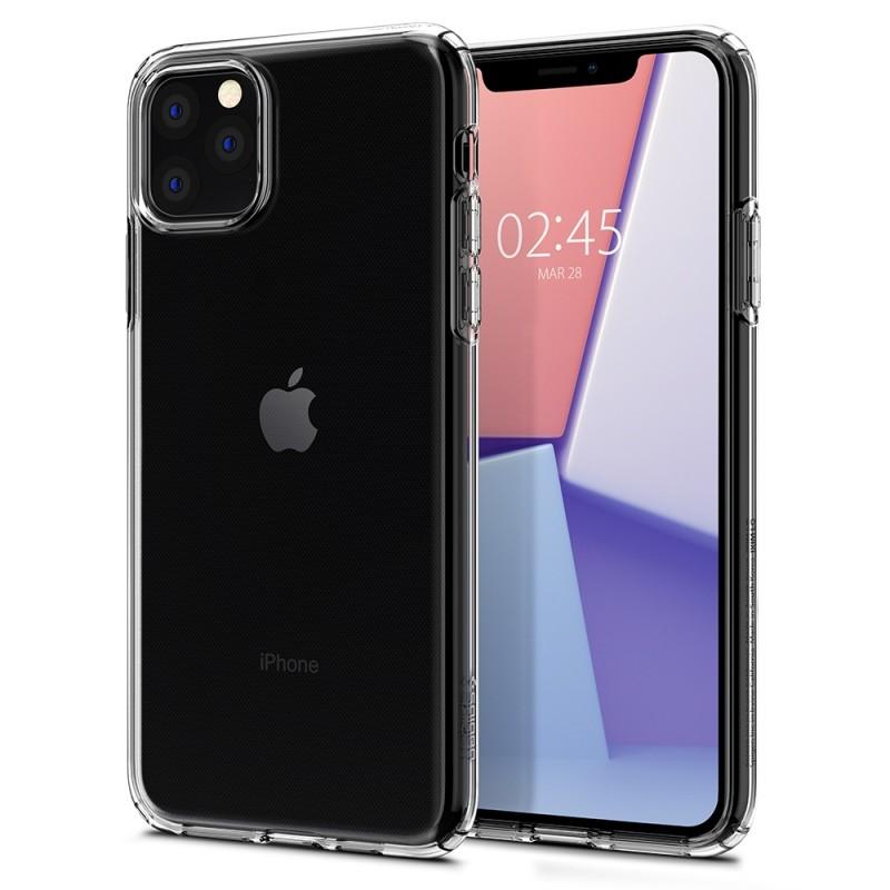 Spigen Liquid Crystal Case iPhone 11 Pro Transparant - 1
