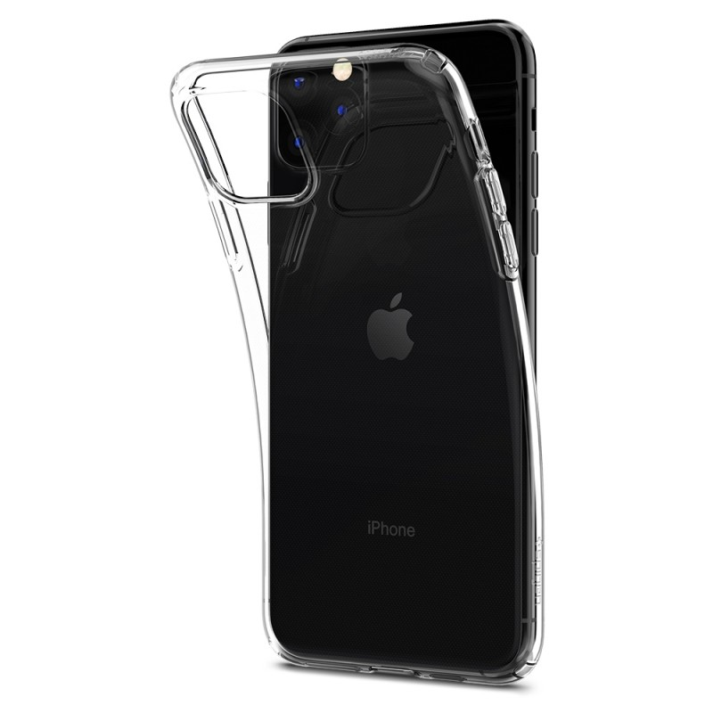 Spigen Liquid Crystal Case iPhone 11 Pro Max Transparant - 4
