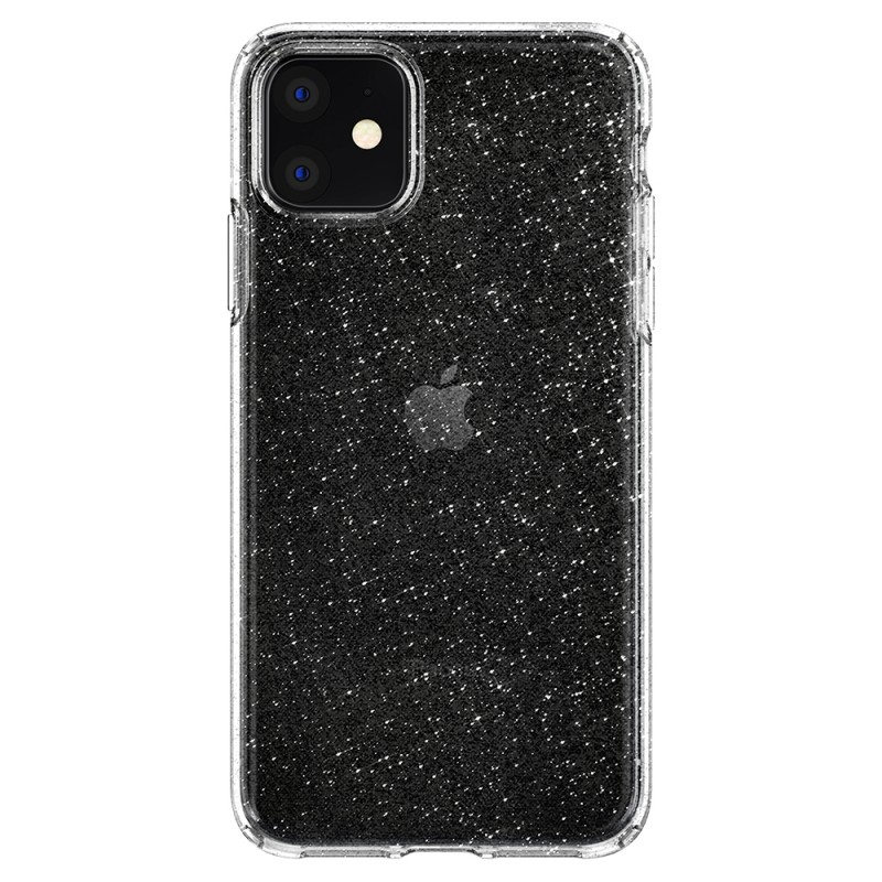 Spigen Liquid Crystal Glitter iPhone 11 Hoesje Quartz - 5