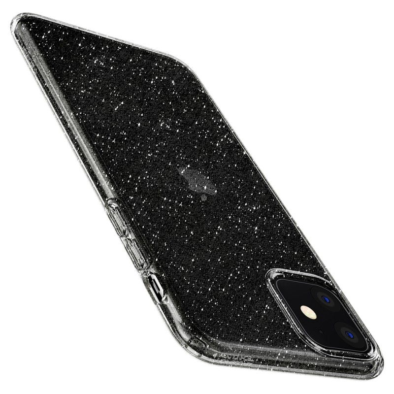 Spigen Liquid Crystal Glitter iPhone 11 Hoesje Quartz - 6