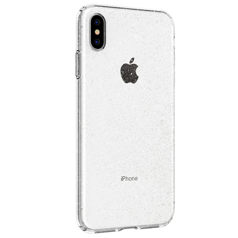 Spigen - Liquid Crystal Glitter Case iPhone XS Max Transparant 04