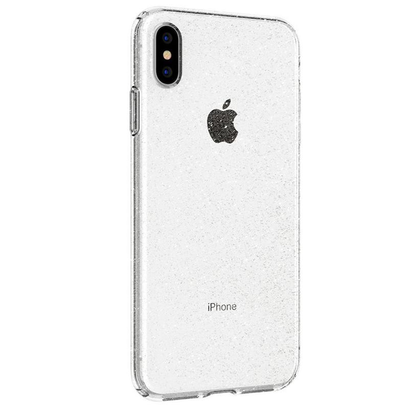 Spigen - Liquid Crystal Glitter Case iPhone XS Max Transparant 04