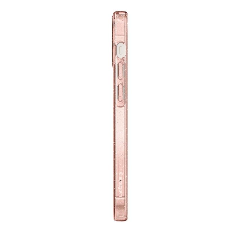 Spigen Liquid Crystal Glitter iPhone 12 Mini Roze - 6
