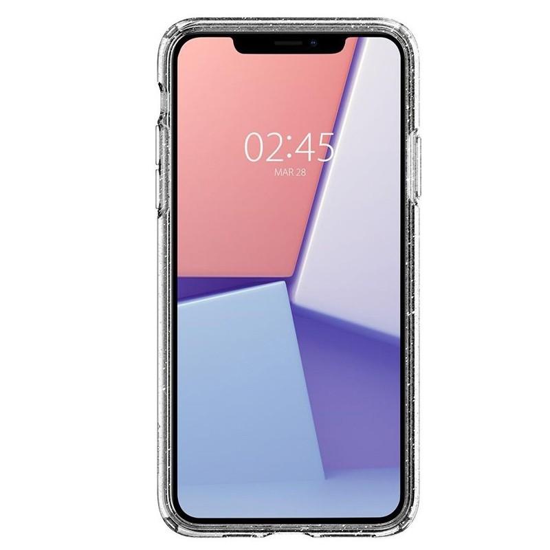 Spigen - Liquid Crystal Glitter iPhone 11 Pro Hoesje Quartz glitter 02
