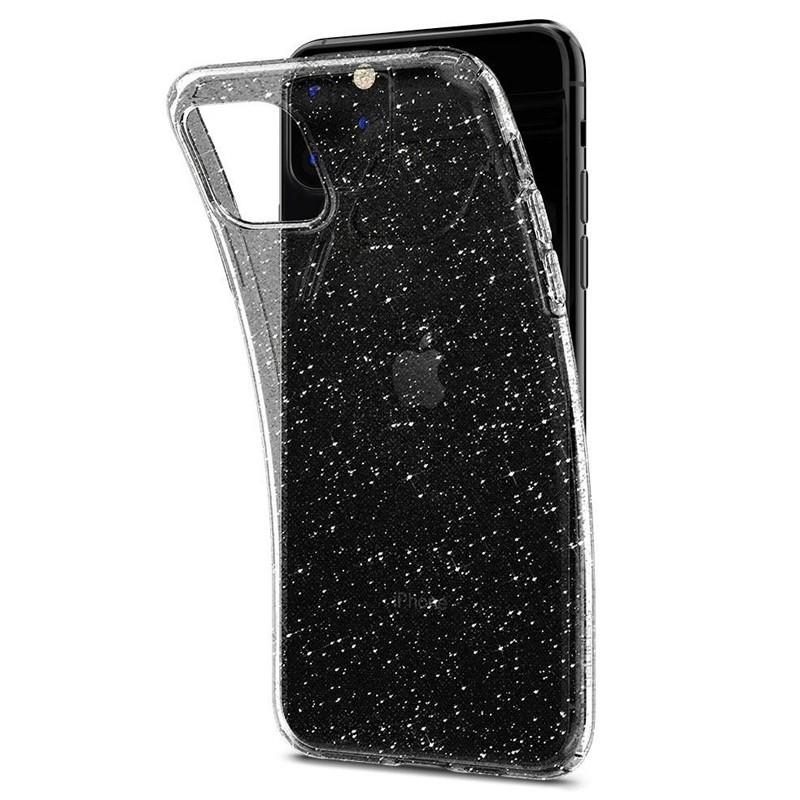 Spigen - Liquid Crystal Glitter iPhone 11 Pro Hoesje Quartz glitter 04