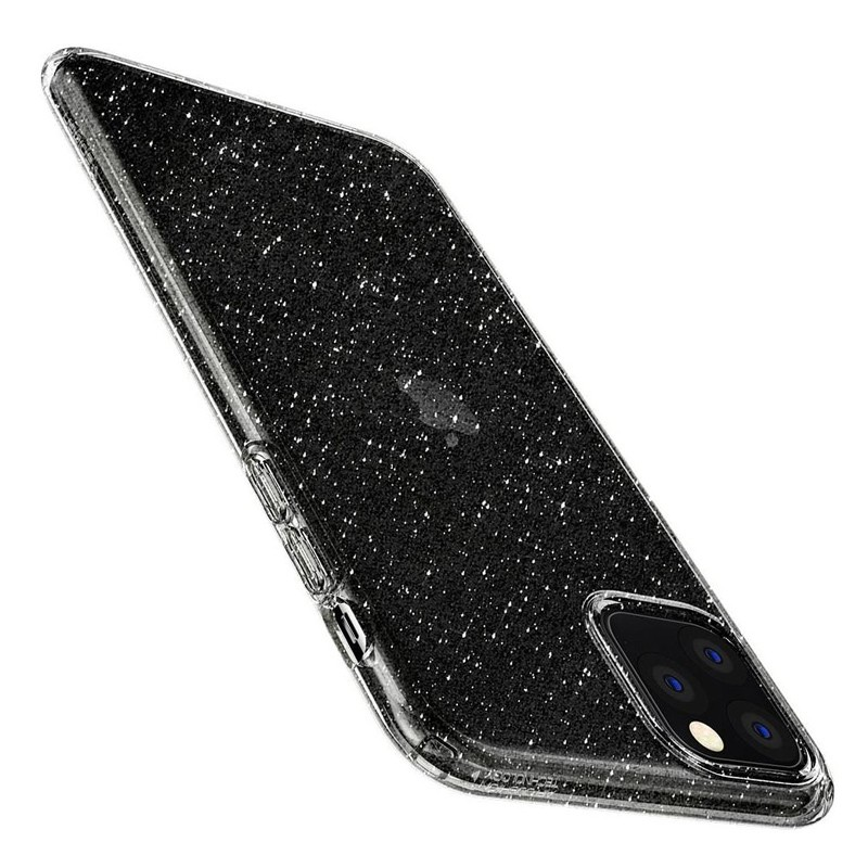 Spigen - Liquid Crystal Glitter iPhone 11 Pro Hoesje Quartz glitter 05