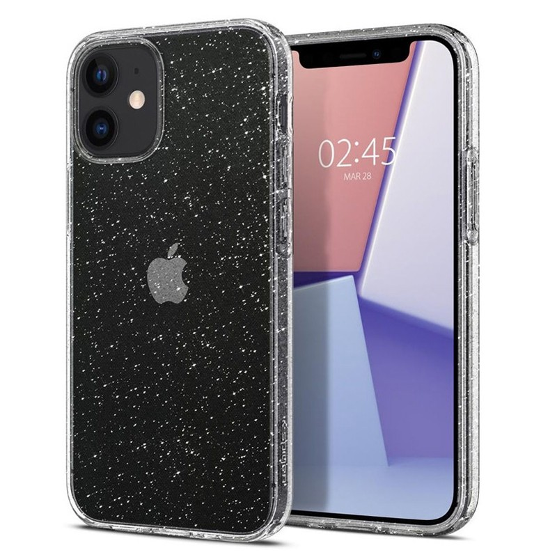 Spigen - Liquid Crystal iPhone 12 Mini 5.4 inch glitter 01
