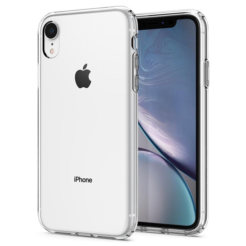 Spigen Liquid Crystal Case iPhone XR Transparant 02