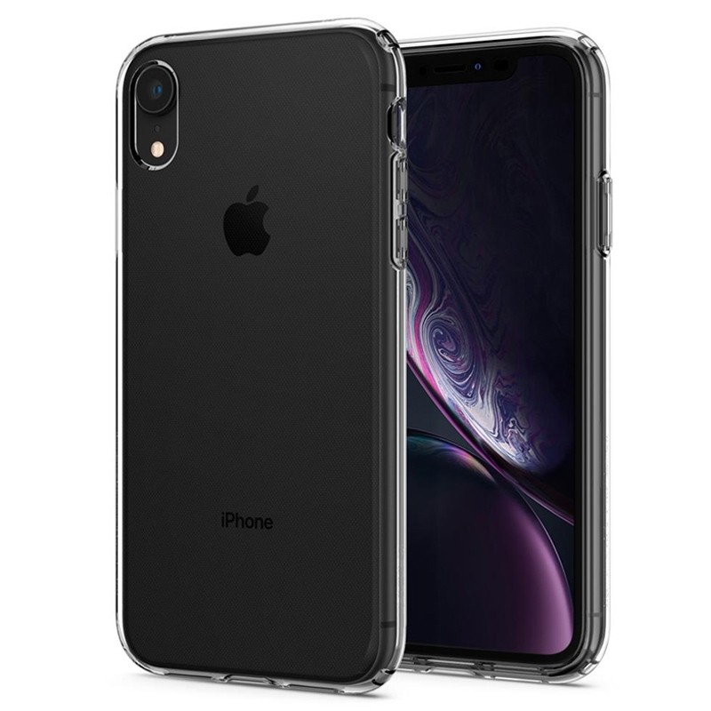 Spigen Liquid Crystal Case iPhone XR Transparant 04