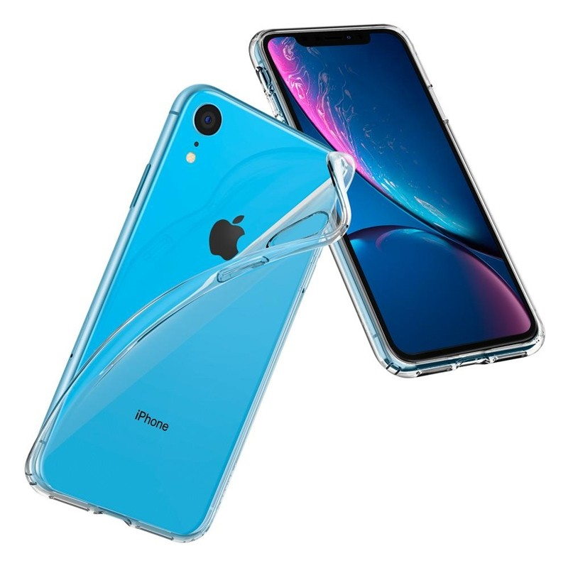 Spigen Liquid Crystal Case iPhone XR Transparant 05