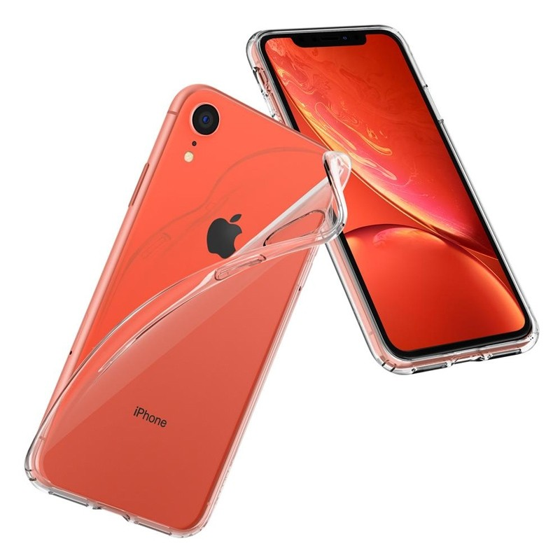 Spigen Liquid Crystal Case iPhone XR Transparant 06