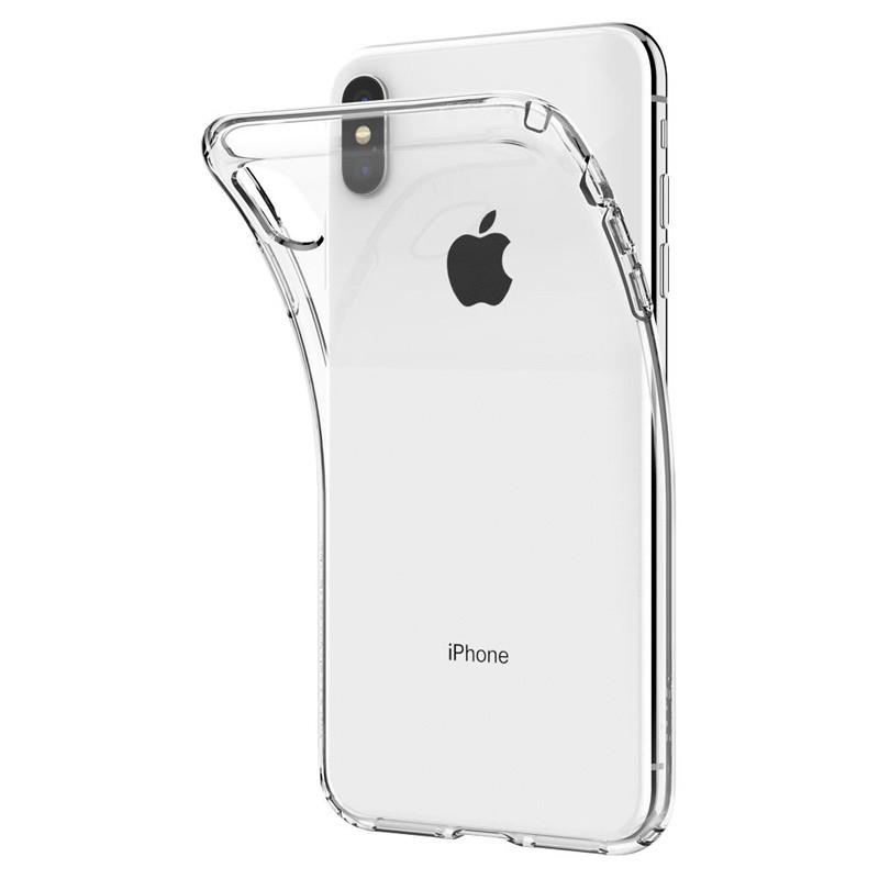 Spigen Liquid Crystal Case iPhone XS Max Clear 04