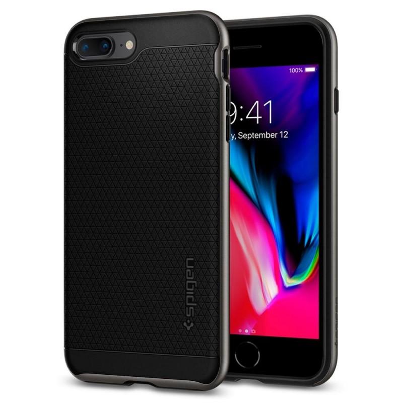Spigen Neo Hybrid 2 Case iPhone 8 Plus/7 Plus Gunmetal - 1