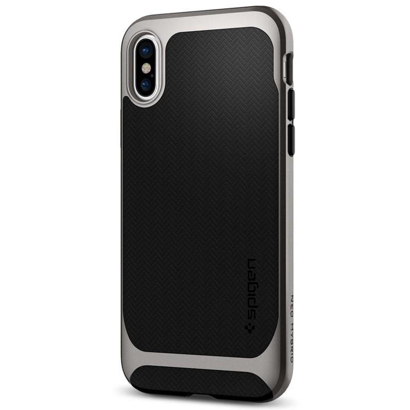 Spigen - Neo Hybrid iPhone 8 Hoesje gunmetal 05