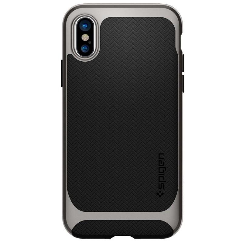 Spigen - Neo Hybrid iPhone 8 Hoesje gunmetal 06