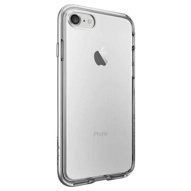Spigen Neo Hybrid Crystal iPhone 7 Silver/Clear - 4