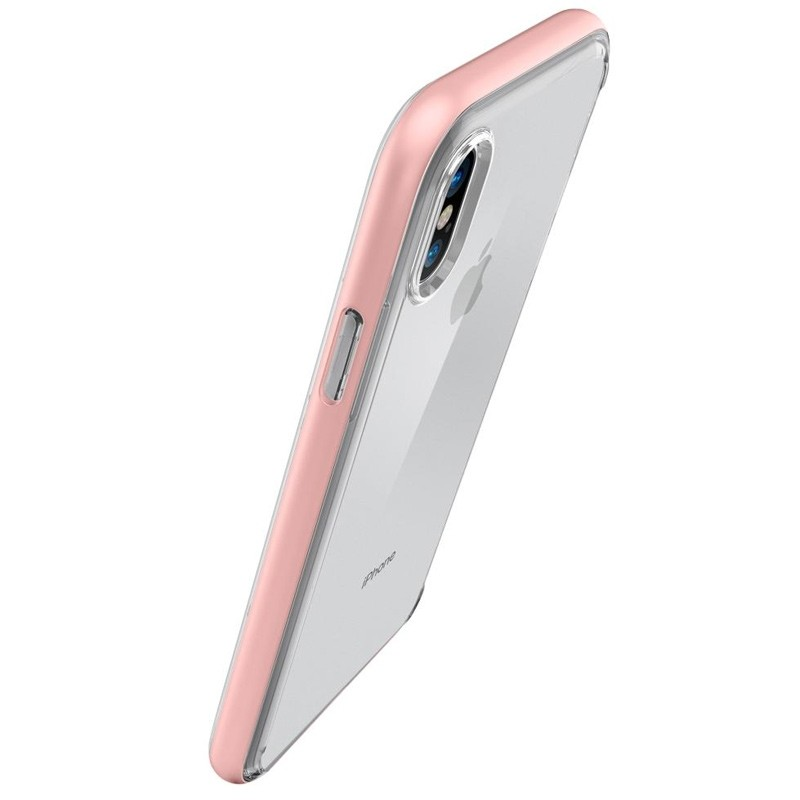 Spigen - Neo Hybrid Crystal iPhone 8 Hoesje rose gold 02