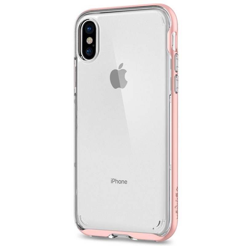 Spigen - Neo Hybrid Crystal iPhone 8 Hoesje rose gold 07
