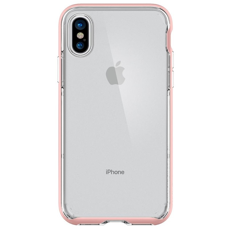 Spigen - Neo Hybrid Crystal iPhone 8 Hoesje rose gold 06