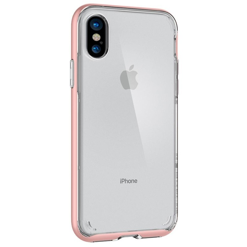 Spigen - Neo Hybrid Crystal iPhone 8 Hoesje rose gold 08