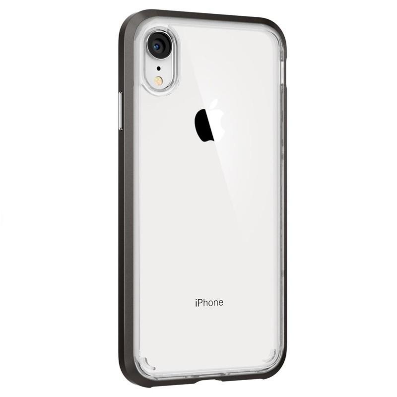 Spigen Neo Hybrid Crystal iPhone XR Case Grijs Transparant 05