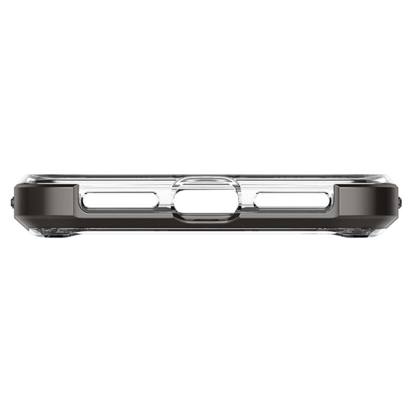 Spigen Neo Hybrid Crystal iPhone XS Max Hoesje Gunmetal Transparant 06