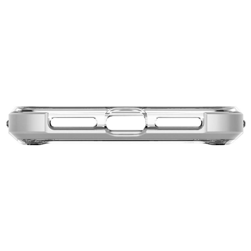 Spigen Neo Hybrid Crystal iPhone XS Max Hoesje Silver Transparant 06