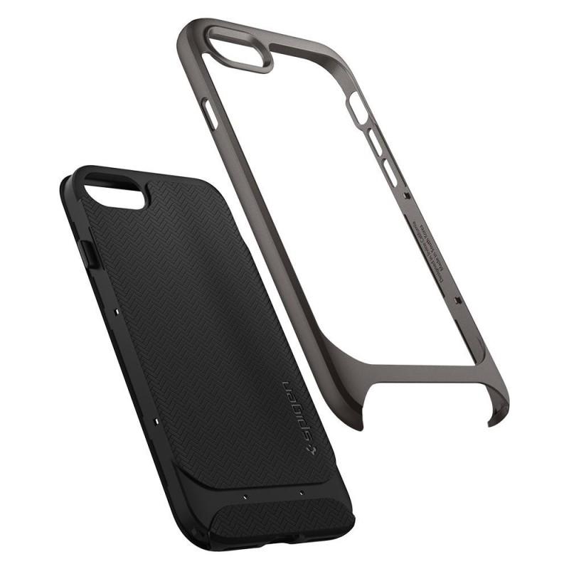 Spigen Neo Hybrid Herringbone Phone 8/7 Gunmetal - 2