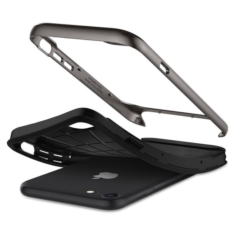 Spigen Neo Hybrid Herringbone Phone 8/7 Gunmetal - 4