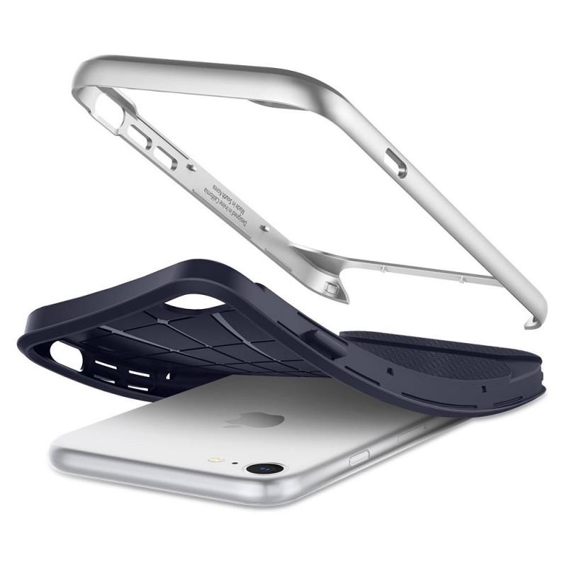 Spigen Neo Hybrid Herringbone Phone 8/7 Zilver - 4